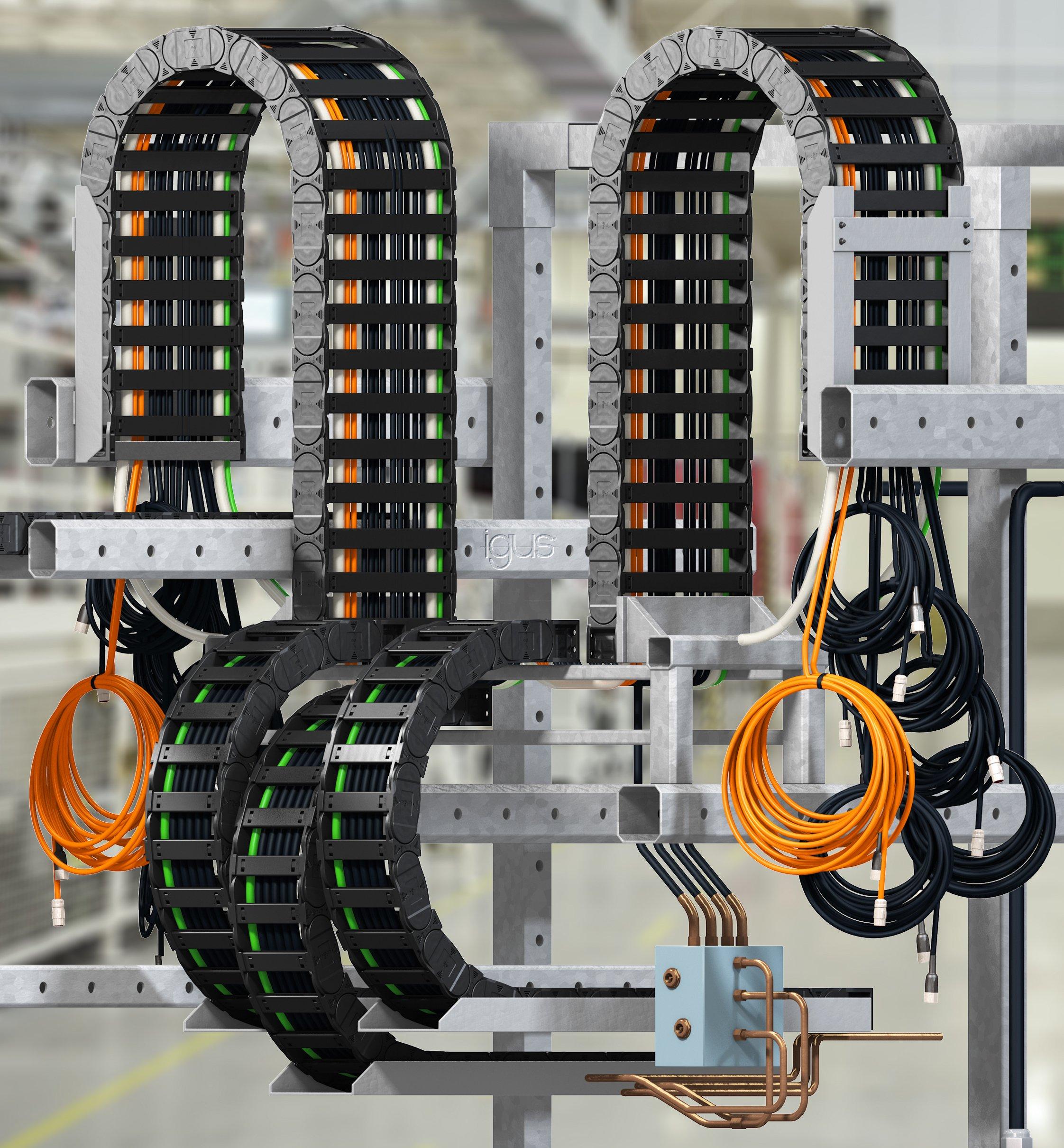 Konfektionierte Energiekettensysteme