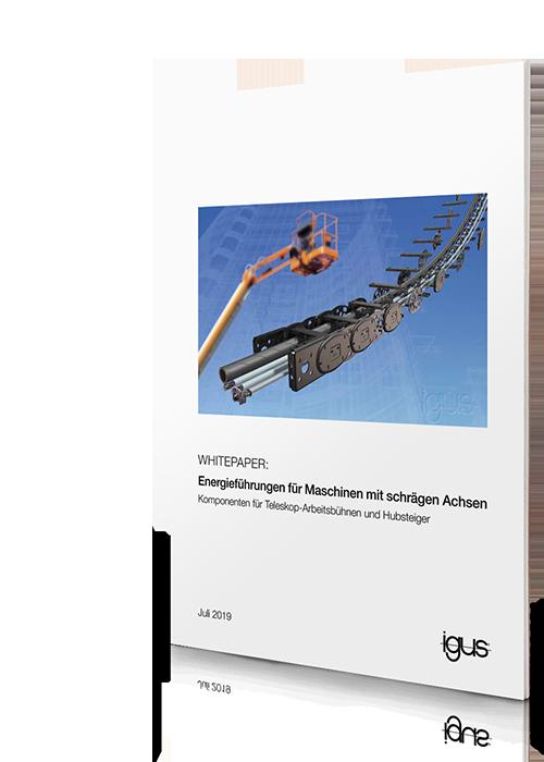 Whitepaper: Energieführungen für Maschinen mit schrägen Achsen
