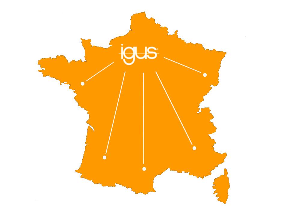 igus roadshow France