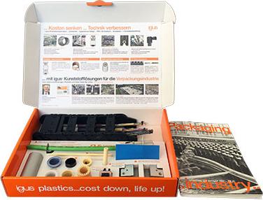 Packaging sample box